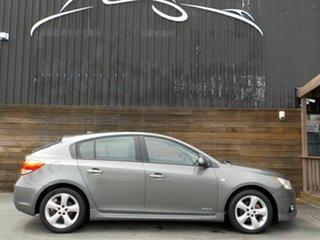 2011 Holden Cruze JH Series II MY12 SRi-V Grey 6 Speed Manual Hatchback.