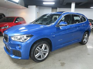 2017 BMW X1 F48 sDrive18d Steptronic Estoril Blue 8 Speed Sports Automatic Wagon.