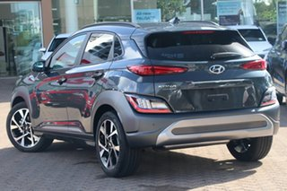 2020 Hyundai Kona Os.v4 MY21 Highlander 2WD Atlas White 8 Speed Constant Variable Wagon.
