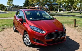 2015 Ford Fiesta WZ MY15 Trend Red 5 Speed Manual Hatchback