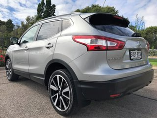 2015 Nissan Qashqai J11 TL Silver 1 Speed Constant Variable Wagon
