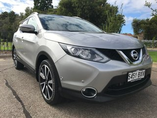 2015 Nissan Qashqai J11 TL Silver 1 Speed Constant Variable Wagon.