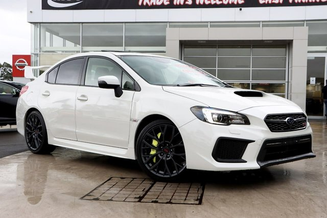 Used Subaru WRX V1 MY18 STI AWD spec.R Liverpool, 2017 Subaru WRX V1 MY18 STI AWD spec.R Crystal White Pearl 6 Speed Manual Sedan