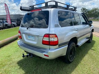 2005 Toyota Landcruiser HDJ100R GXL Silver 5 Speed Automatic Wagon