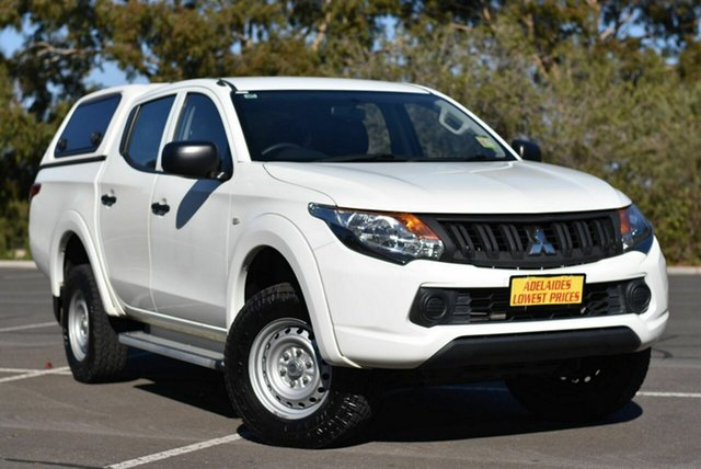 Used Mitsubishi Triton MQ MY16 GLX Double Cab Enfield, 2016 Mitsubishi Triton MQ MY16 GLX Double Cab White 5 Speed Sports Automatic Utility