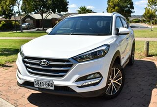 2016 Hyundai Tucson TL Active X 2WD Pure White 6 Speed Manual Wagon.