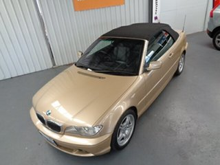 2003 BMW 3 Series E46 MY2002 330Ci Steptronic Gold 5 Speed Sports Automatic Convertible