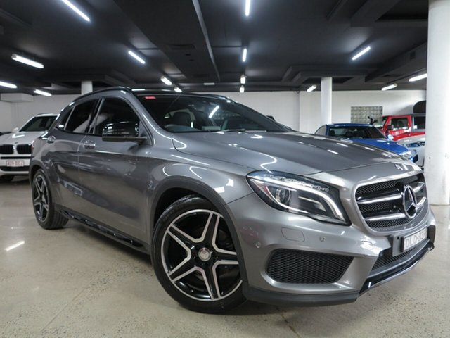 Used Mercedes-Benz GLA-Class X156 807MY GLA180 DCT Albion, 2017 Mercedes-Benz GLA-Class X156 807MY GLA180 DCT Mountain Grey 7 Speed