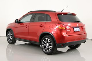 2016 Mitsubishi ASX XB MY15.5 LS (2WD) Red Continuous Variable Wagon