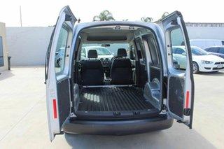 2011 Volkswagen Caddy 2KN MY11 TDI250 Maxi Silver 5 Speed Manual Van.