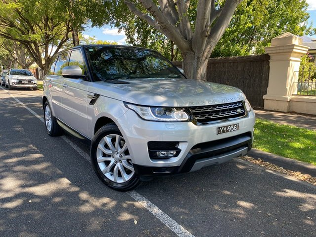 Used Land Rover Range Rover Sport L494 16MY SE Hawthorn, 2015 Land Rover Range Rover Sport L494 16MY SE Silver 8 Speed Sports Automatic Wagon