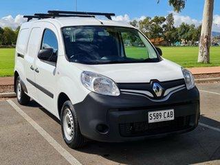 2019 Renault Kangoo F61 Phase II Maxi LWB EDC White 6 Speed Sports Automatic Dual Clutch Van.