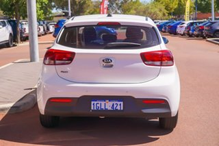 2018 Kia Rio YB MY18 S White 4 Speed Sports Automatic Hatchback