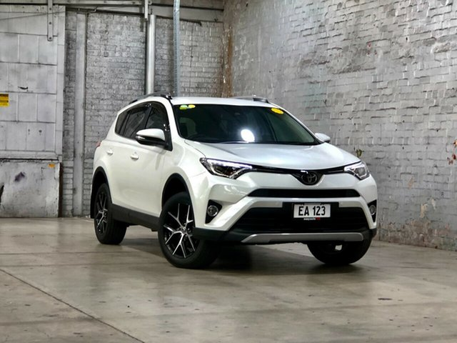 Used Toyota RAV4 ZSA42R GXL 2WD Mile End South, 2018 Toyota RAV4 ZSA42R GXL 2WD White 7 Speed Constant Variable Wagon