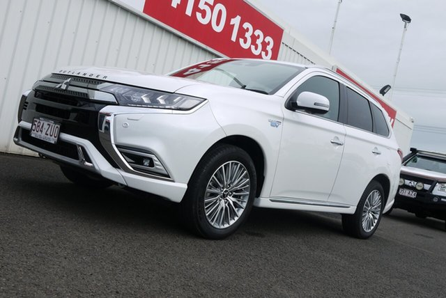 Used Mitsubishi Outlander ZL MY20 PHEV AWD Exceed Bundaberg, 2019 Mitsubishi Outlander ZL MY20 PHEV AWD Exceed 1 Speed Automatic Wagon Hybrid
