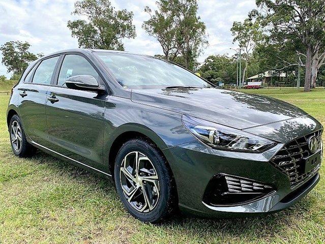 New Hyundai i30 PD.V4 MY21 Mount Gravatt, 2021 Hyundai i30 PD.V4 MY21 Amazon Gray 6 Speed Manual Hatchback