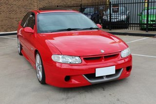 2000 Holden Special Vehicles ClubSport VTII Red 4 Speed Automatic Sedan.