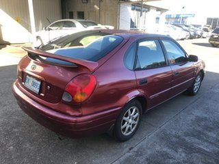 2001 Toyota Corolla ZZE122R Levin Red 4 Speed Automatic Hatchback.