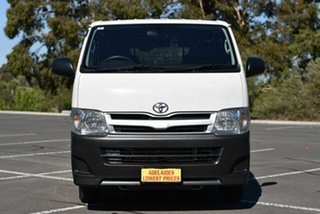 2013 Toyota HiAce KDH201R MY12 LWB White 4 Speed Automatic Van