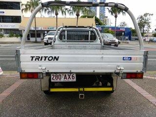 2008 Mitsubishi Triton ML MY08 GL White 5 Speed Manual Cab Chassis