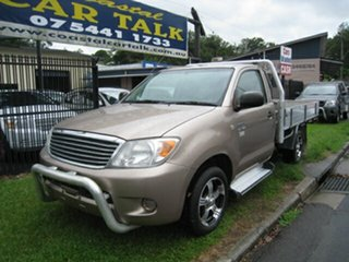 2008 Toyota Hilux TGN16R 07 Upgrade Workmate Gold 5 Speed Manual Cab Chassis.