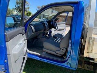 2009 Mazda BT-50 08 Upgrade DX (4x4) Blue 5 Speed Manual Single Cab