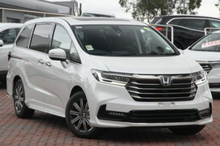 2020 Honda Odyssey RC 21YM Vi LX7 Platinum White 7 Speed Constant Variable Wagon.