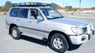 2003 Toyota Landcruiser UZJ100R GXL Light Grey 5 Speed Automatic Wagon.