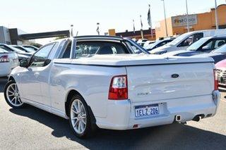 2014 Ford Falcon FG MkII XR6 Ute Super Cab White 6 Speed Manual Utility.