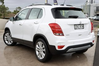 2017 Holden Trax TJ MY17 LTZ White 6 Speed Automatic Wagon.