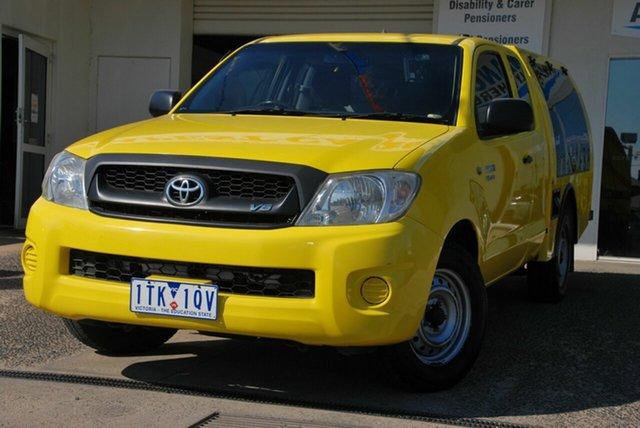 Used Toyota Hilux GGN15R 07 Upgrade SR Wendouree, 2008 Toyota Hilux GGN15R 07 Upgrade SR Yellow 5 Speed Automatic Pickup