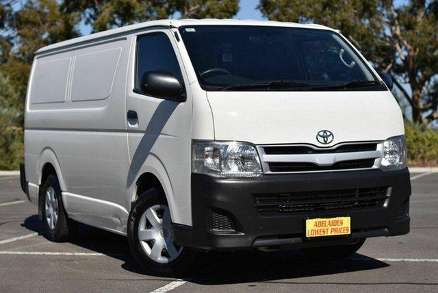 Used Toyota HiAce KDH201R MY12 LWB Enfield, 2013 Toyota HiAce KDH201R MY12 LWB White 4 Speed Automatic Van