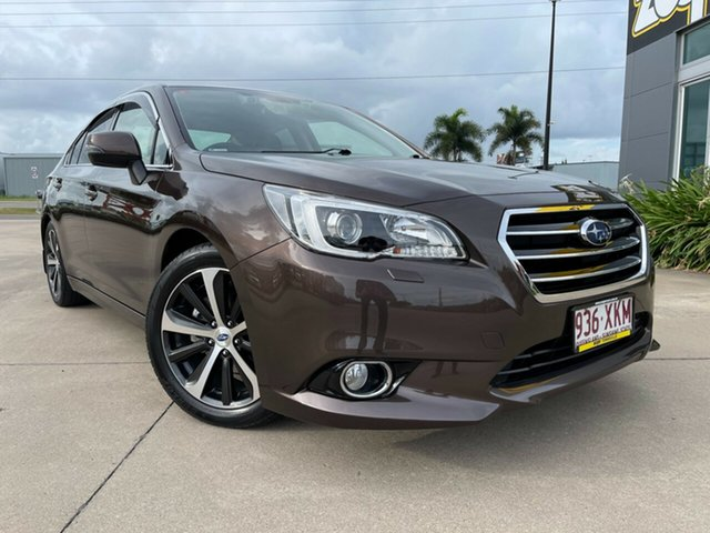 Used Subaru Liberty B6 MY17 2.5i CVT AWD Premium Townsville, 2017 Subaru Liberty B6 MY17 2.5i CVT AWD Premium Brown/300617 6 Speed Constant Variable Sedan