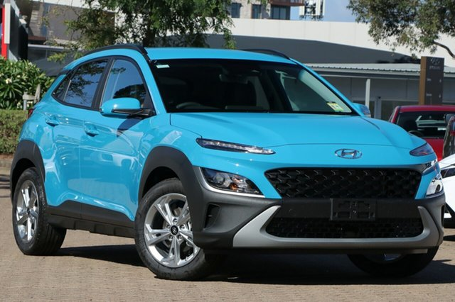 New Hyundai Kona Os.v4 MY21 Active 2WD Augustine Heights, 2021 Hyundai Kona Os.v4 MY21 Active 2WD Dive in Jeju 8 Speed Constant Variable Wagon