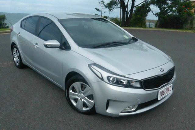 Used Kia Cerato YD MY17 S Gladstone, 2017 Kia Cerato YD MY17 S Silver 6 Speed Sports Automatic Sedan