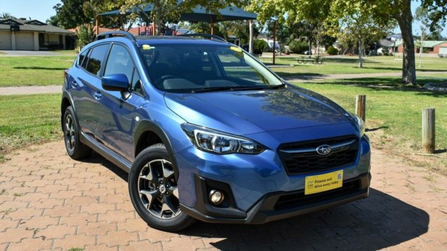 Used Subaru XV G5X MY18 2.0i Lineartronic AWD Ingle Farm, 2018 Subaru XV G5X MY18 2.0i Lineartronic AWD Blue 7 Speed Constant Variable Wagon