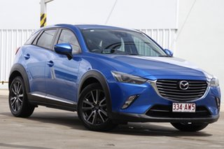 2016 Mazda CX-3 DK2W76 Akari SKYACTIV-MT Blue 6 Speed Manual Wagon.