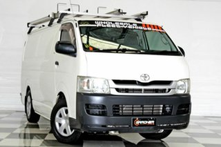 2010 Toyota HiAce KDH201R MY11 Upgrade LWB White 4 Speed Automatic Van.