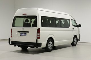 2015 Toyota HiAce KDH223R MY15 Commuter White 4 Speed Automatic Bus
