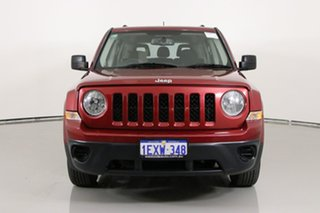 2015 Jeep Patriot MK MY15 Sport (4x2) Red 5 Speed Manual Wagon.