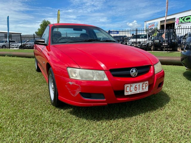 Used Holden Ute VZ Berrimah, 2005 Holden Ute VZ Red 4 Speed Automatic Utility