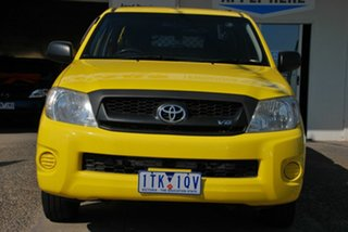 2008 Toyota Hilux GGN15R 07 Upgrade SR Yellow 5 Speed Automatic Pickup.