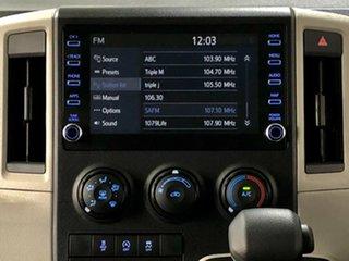 2020 Toyota HiAce GDH300R Crewvan LWB White 6 Speed Sports Automatic Van Wagon