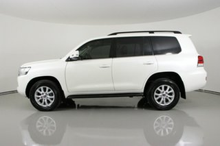 2018 Toyota Landcruiser VDJ200R LC200 VX (4x4) White 6 Speed Automatic Wagon