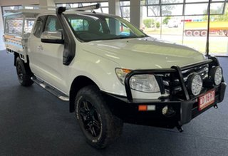 2014 Ford Ranger PX XLT Super Cab White 6 Speed Sports Automatic Utility.