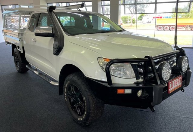 Used Ford Ranger PX XLT Super Cab Winnellie, 2014 Ford Ranger PX XLT Super Cab White 6 Speed Sports Automatic Utility