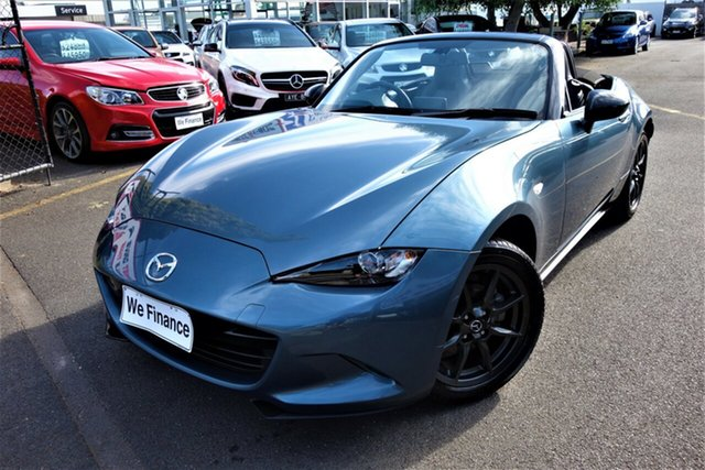 Used Mazda MX-5 ND GT SKYACTIV-Drive Seaford, 2015 Mazda MX-5 ND GT SKYACTIV-Drive Blue 6 Speed Sports Automatic Roadster