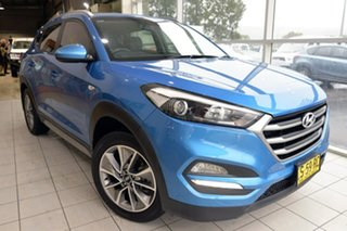 2017 Hyundai Tucson TL MY17 Active X 2WD Blue 6 Speed Sports Automatic Wagon.