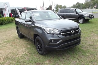 2021 Ssangyong Musso Q200 MY20.5 Ultimate Crew Cab Grey 6 Speed Sports Automatic Utility.