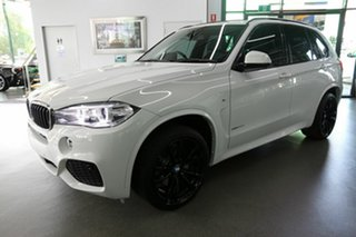 2018 BMW X5 F15 xDrive30d White 8 Speed Sports Automatic Wagon